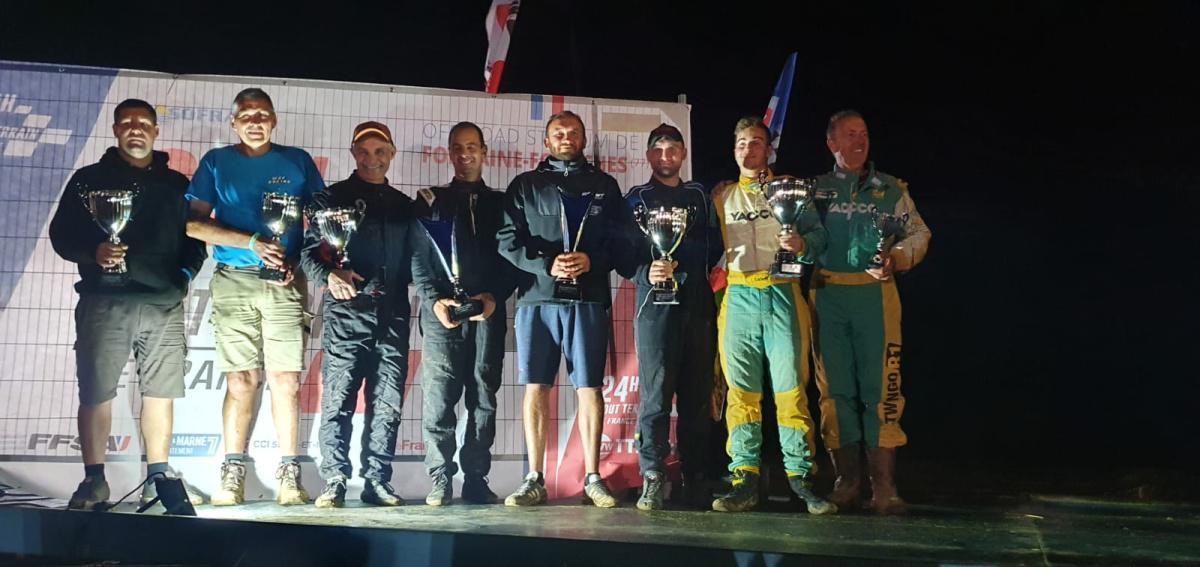 Cyril Delaunay et Franky Bleuart remportent les 6H Tout Terrain d'Ile de France !