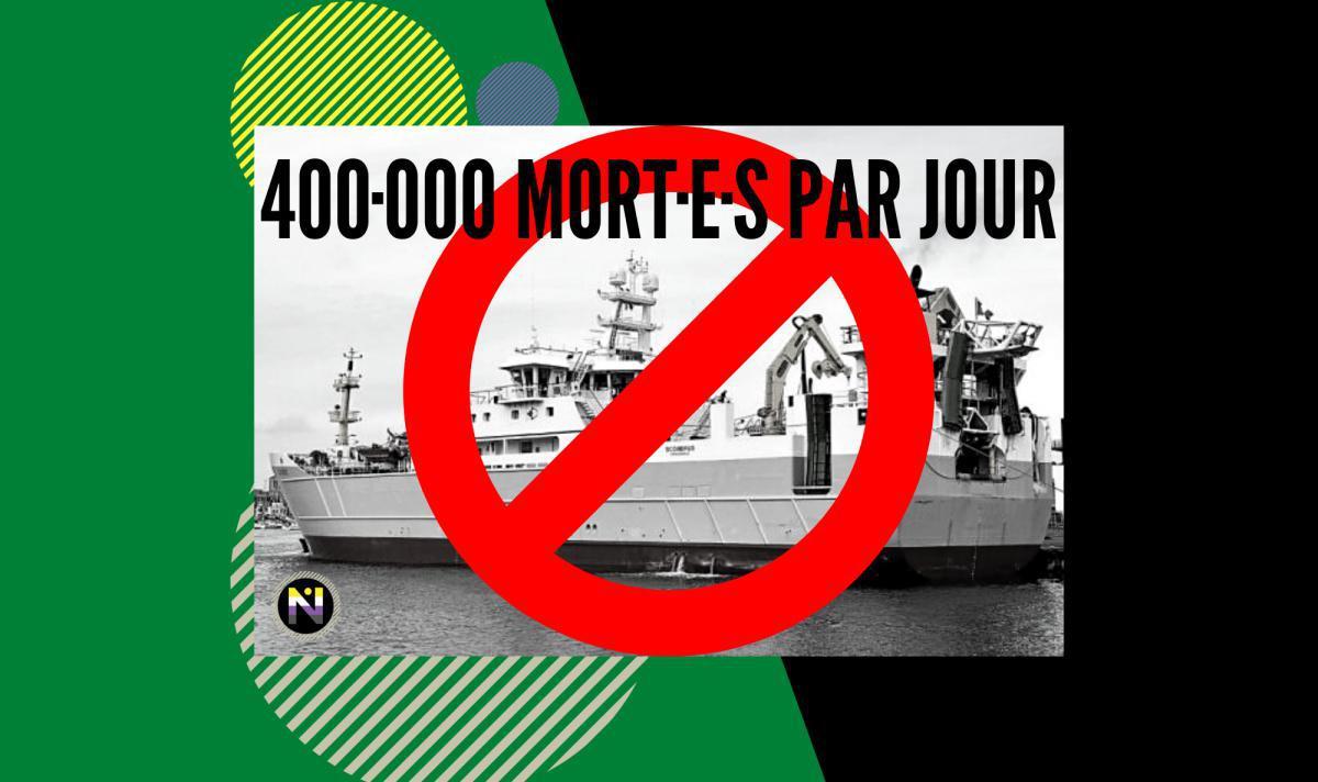 400·000 mort·e·s par jour à Concarneau