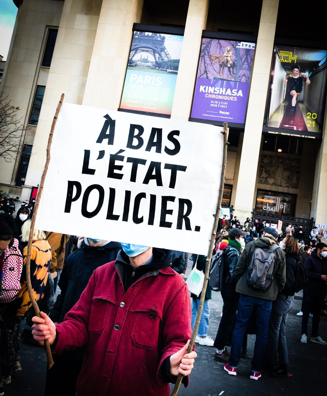Contre la loi sécurité globale - Paris