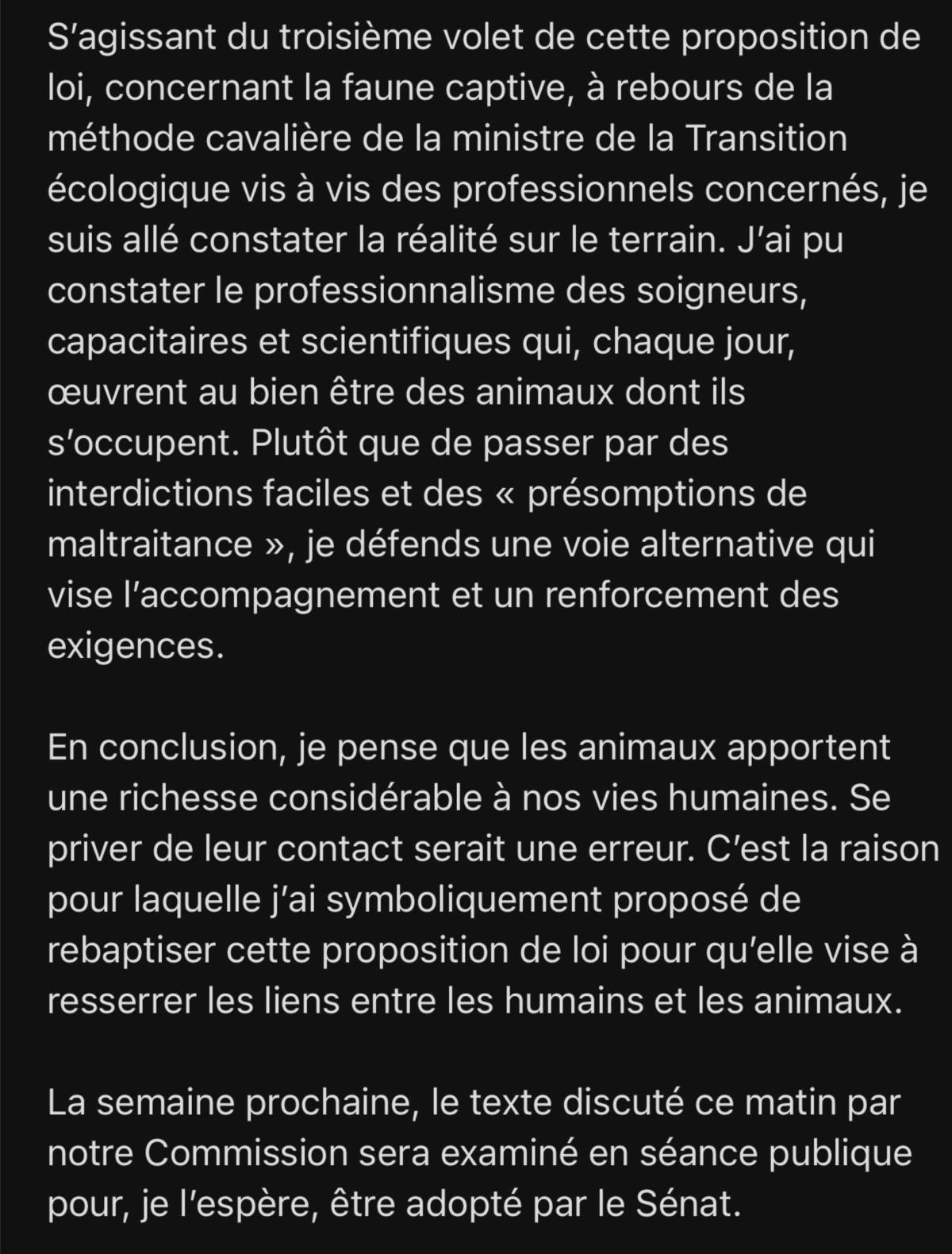 Loi contre la maltraitance animale