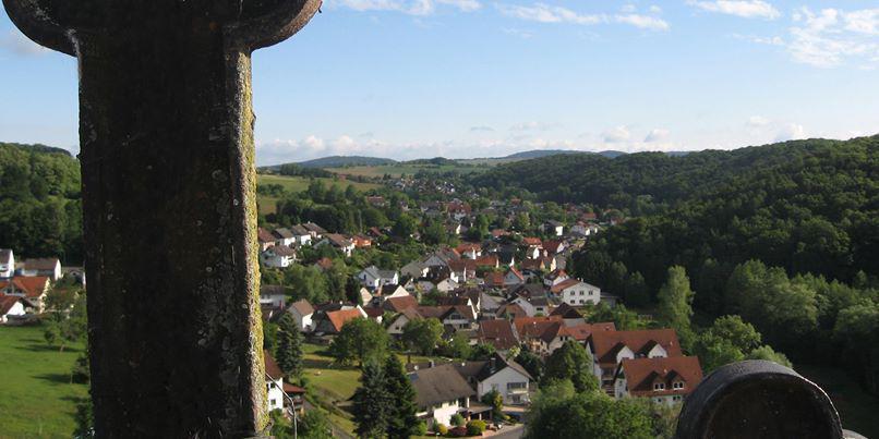 Blick von der Kirchturmspitze