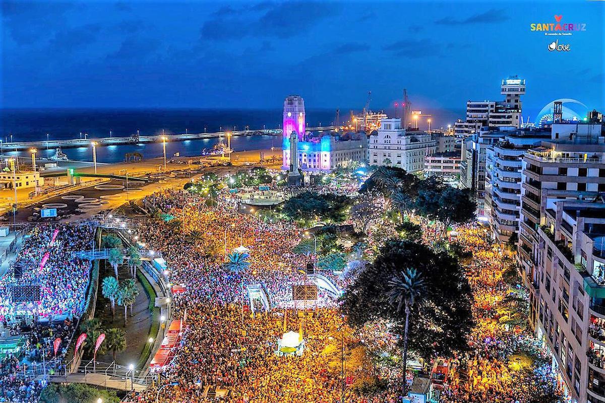 El carnaval de Santa Cruz