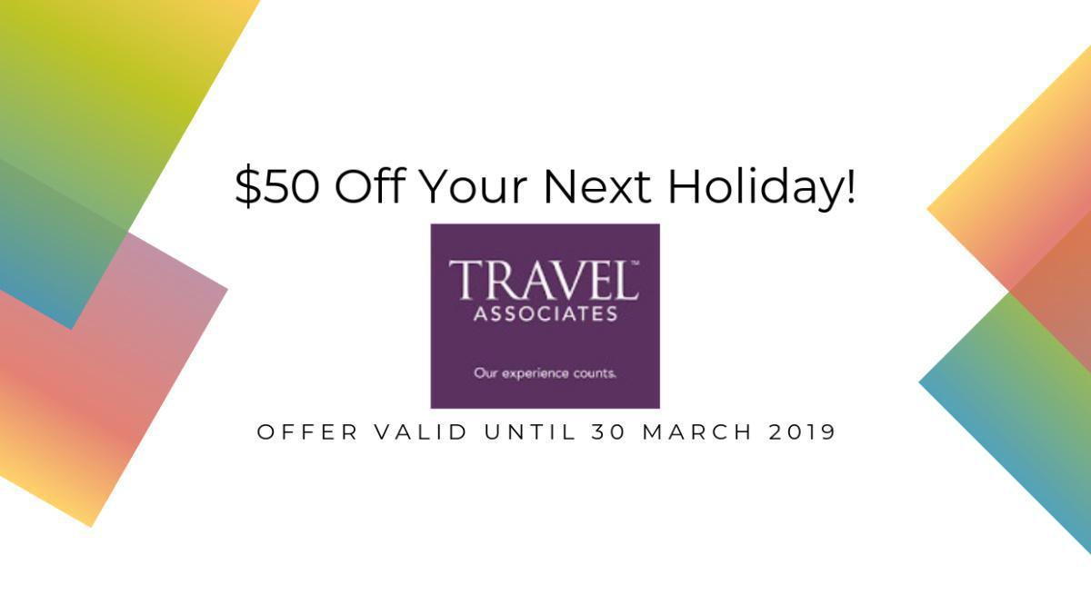 $50 Off Your Next Holiday!