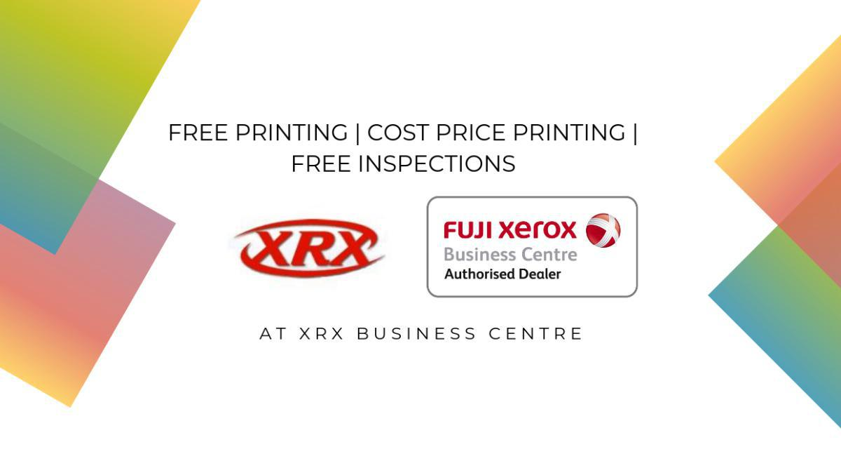 Free Printing / Cost Price Printing / Free Inspections