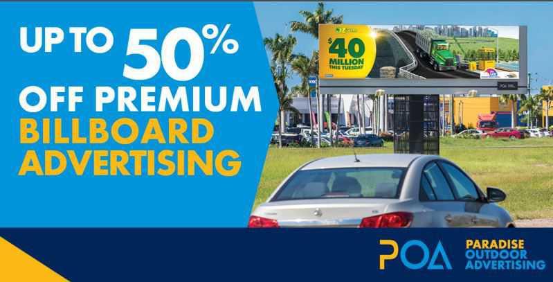 Up to 50% Off Premium Billboard Advertising