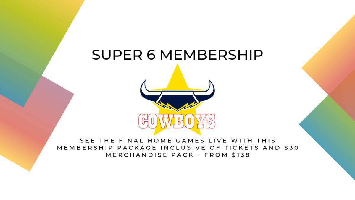 North Queensland Toyota Cowboys Super 6 Membership