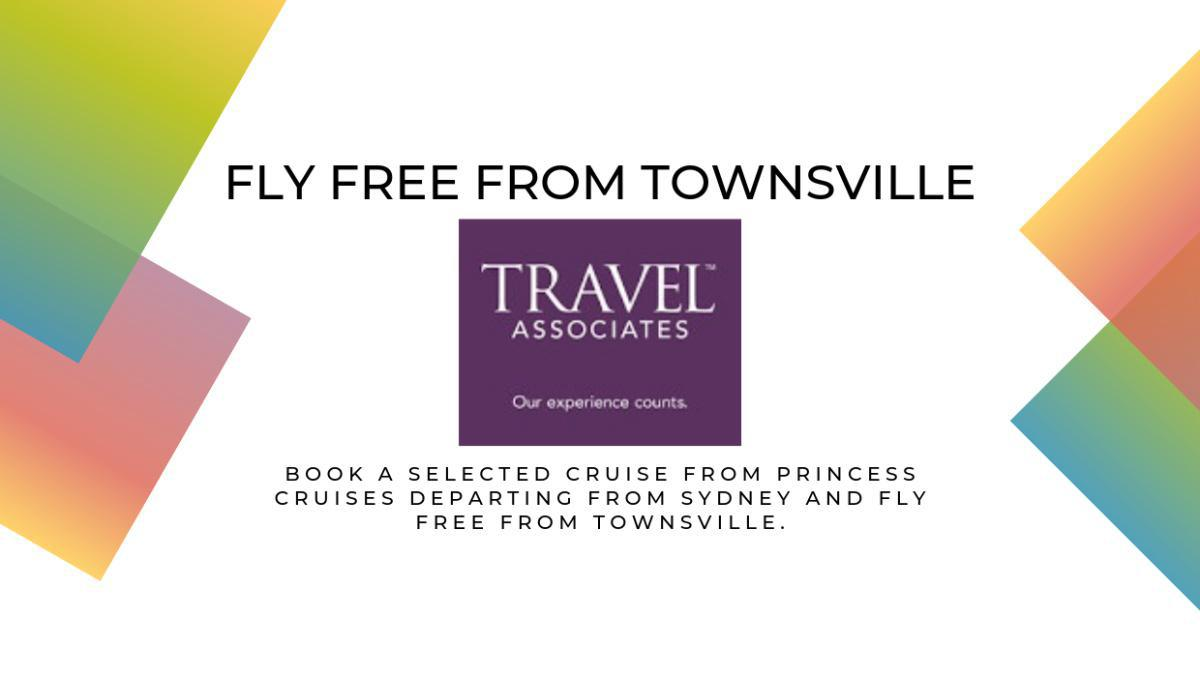 Fly FREE from Townsville with Travel Associates