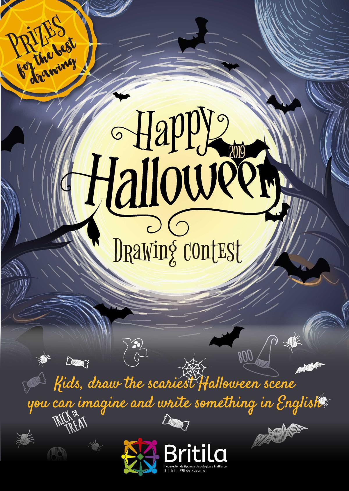 Trick or treat Halloween: Concurso de dibujo