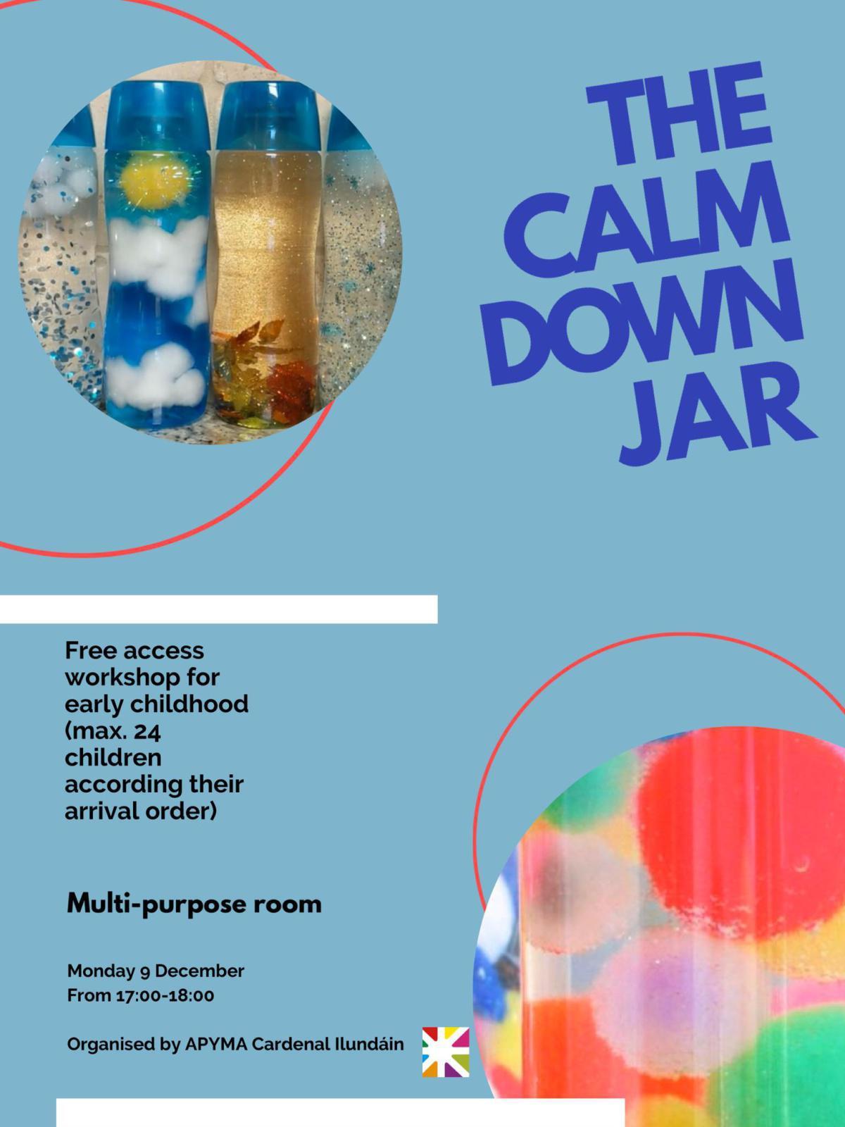 Calming jar workshop