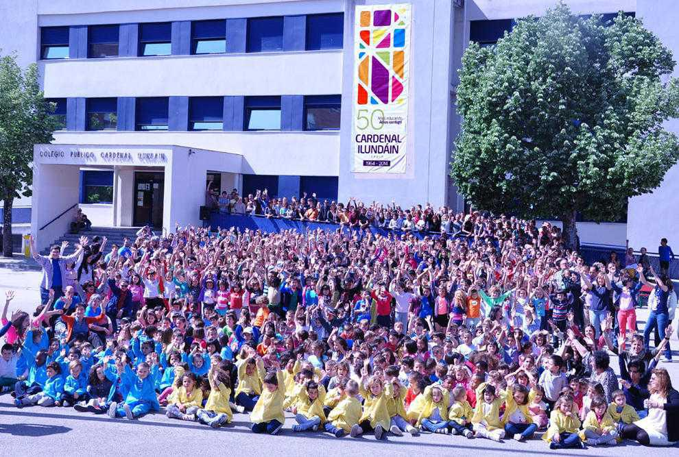 Primer premio para el colegio Cardenal Ilundáin en los premios de ApS de Pamplona