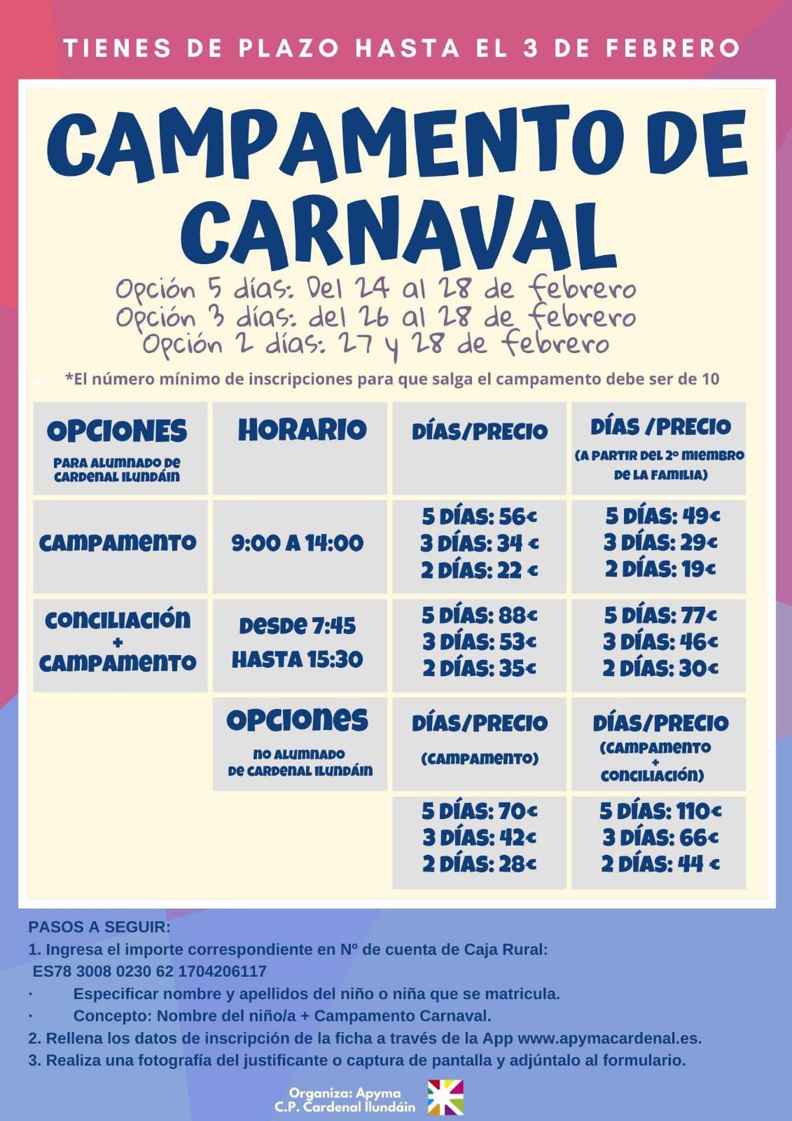 Campamento de carnaval