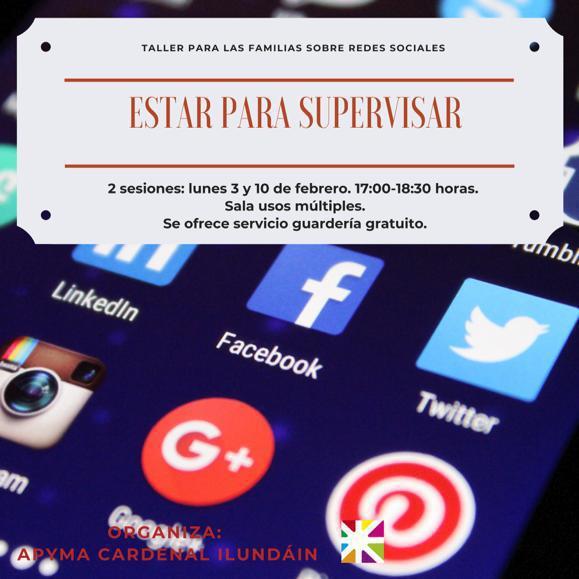 Iniciación a las redes sociales: estar para supervisar