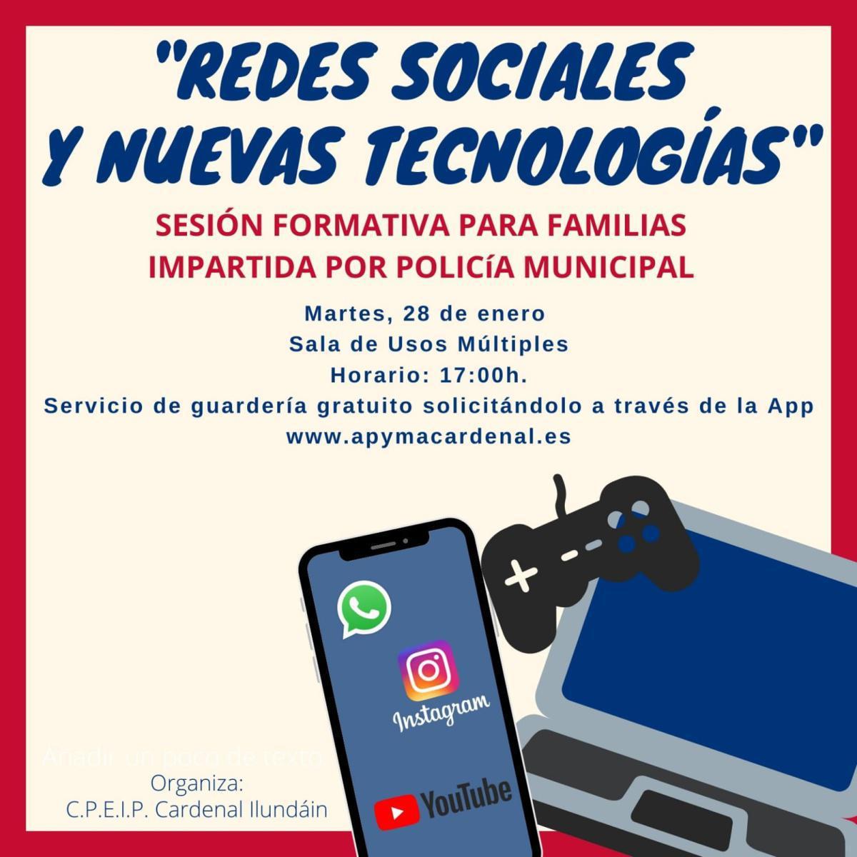 Redes sociales y nuevas tecnologías
