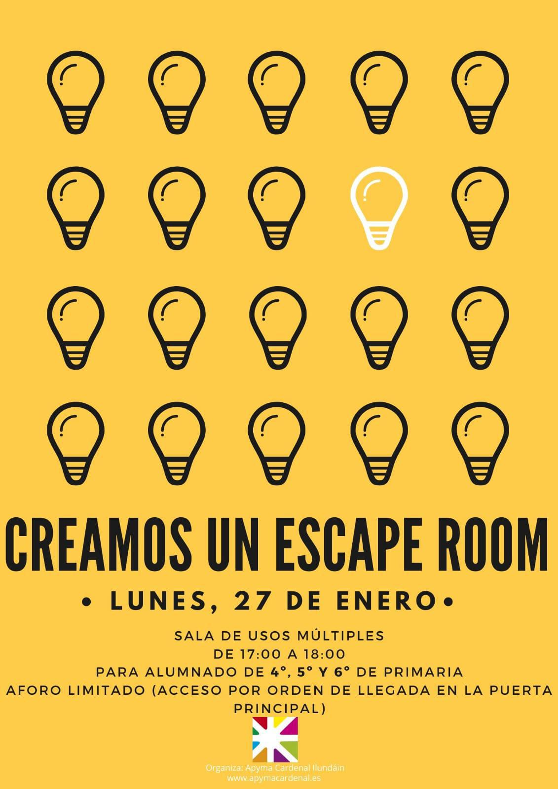 Creamos un Escape Room