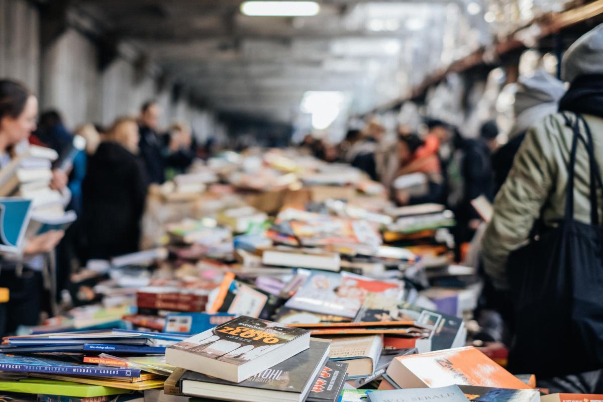 Book Fair (feria del libro en inglés)