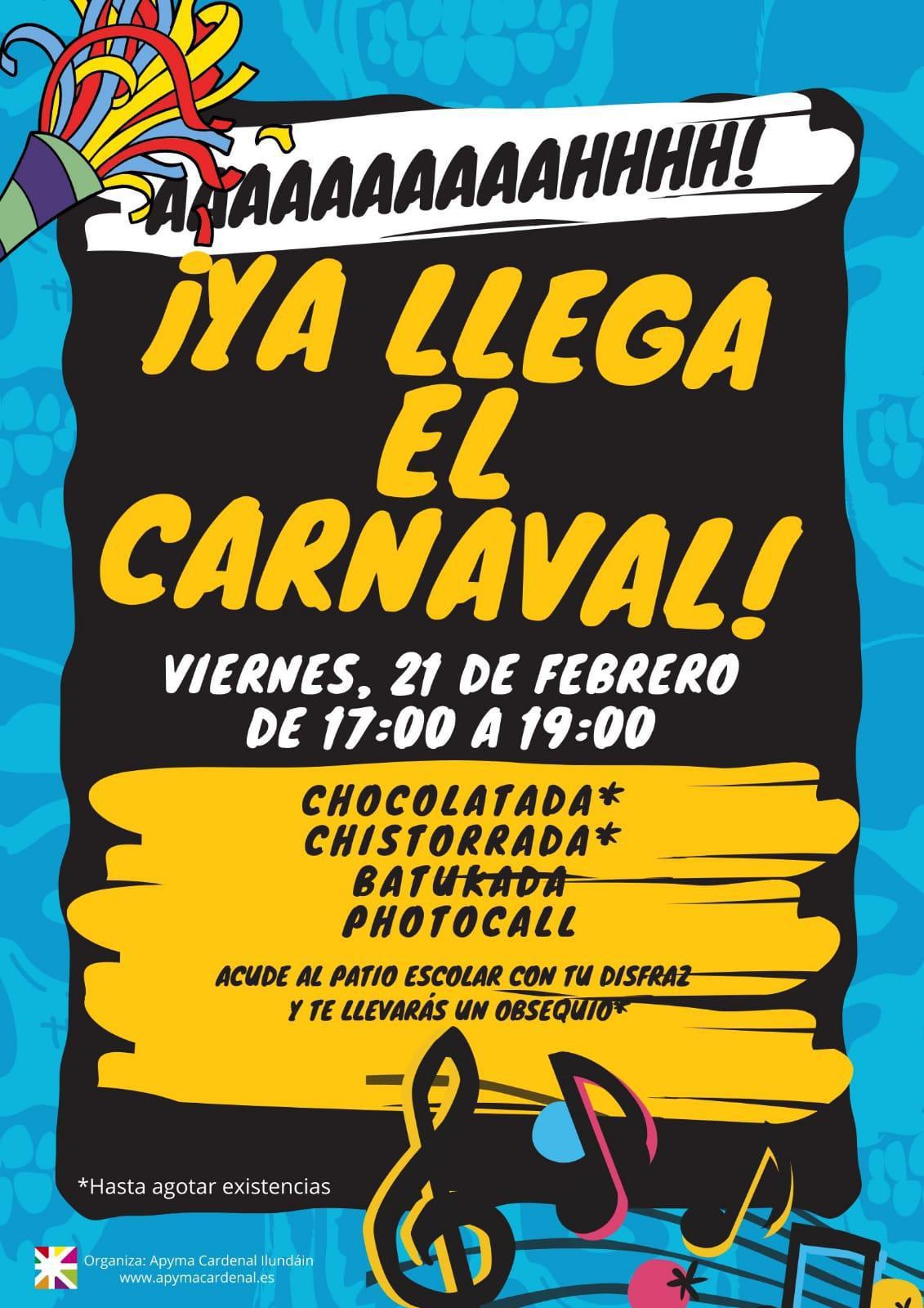 ¡Ya llega el carnaval!