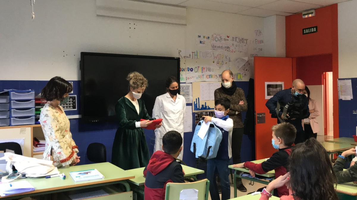 """Premiado alumno de Cardenal Ilundáin en el II Concurso Escolar """"Yo quiero ser científica"""""""