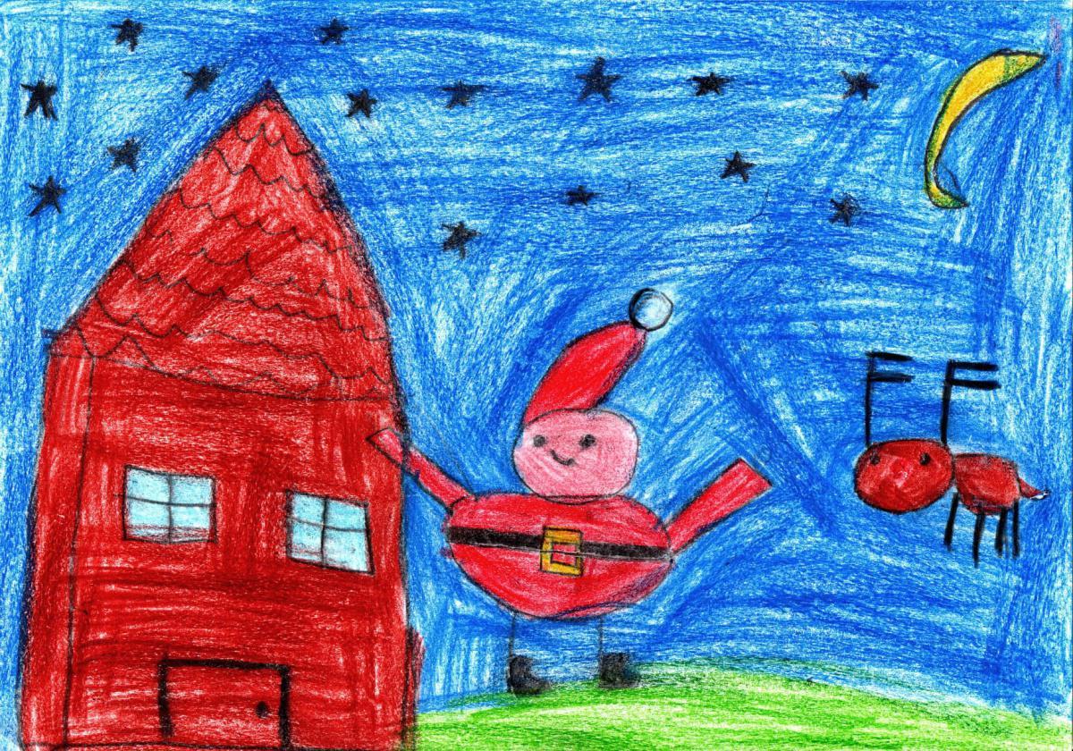 """Ganadores del primer concurso """"Dibujando la Navidad"""""""