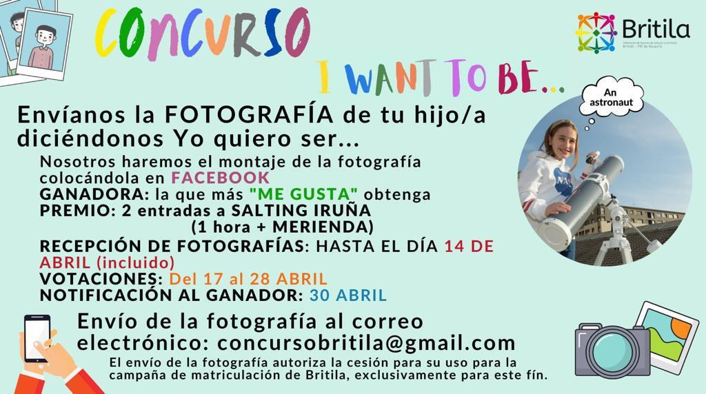 """Concurso Britila """"I want to be..."""""""