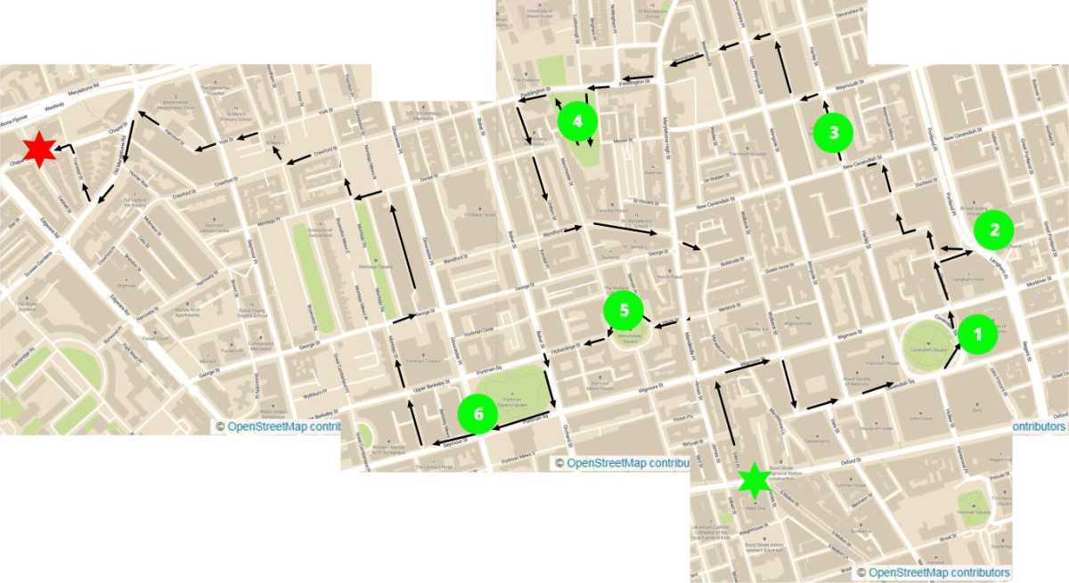 Marylebone Mews & Garden Squares