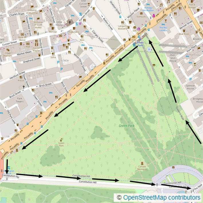 1.8km Green Park