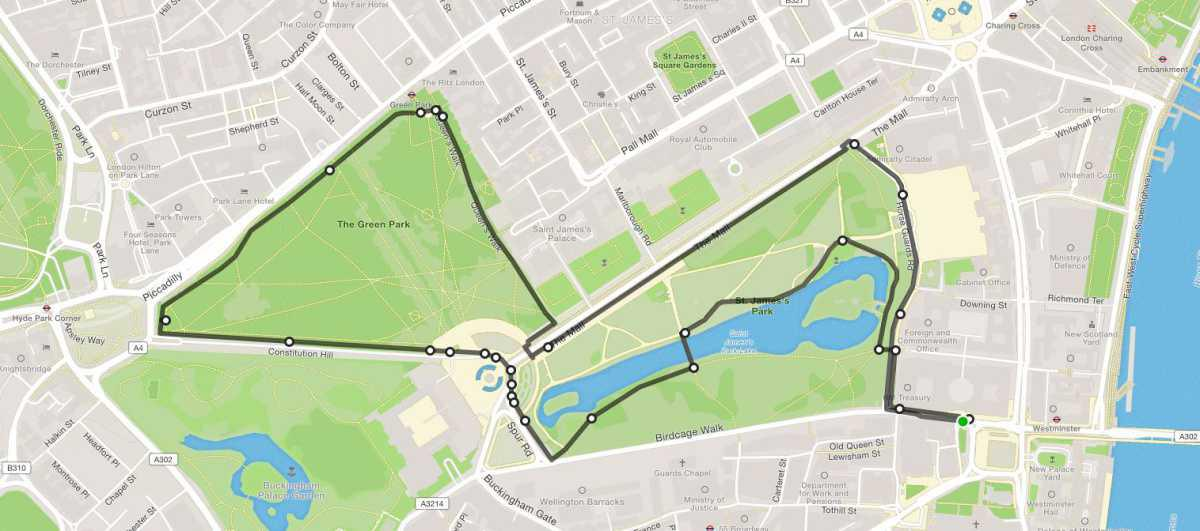 5km Royal Parks