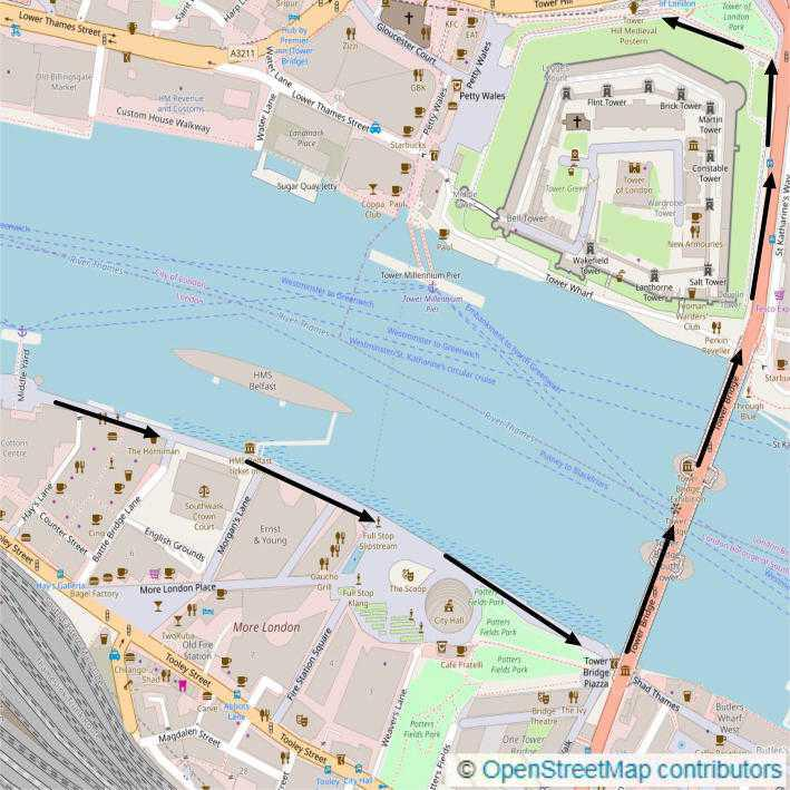 11km Thames