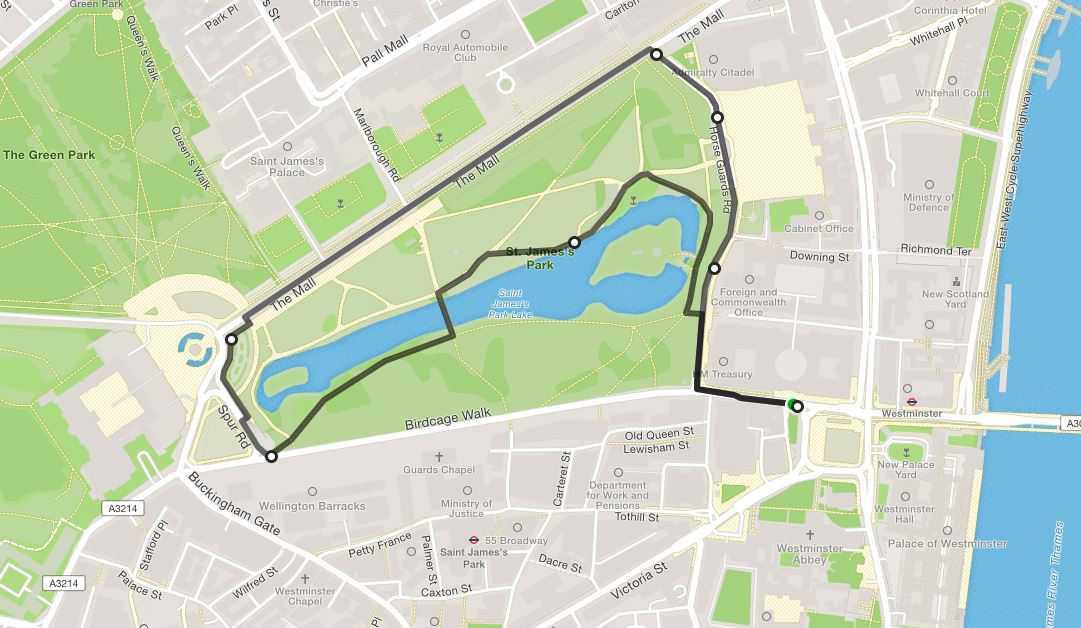 3km Royal Parks