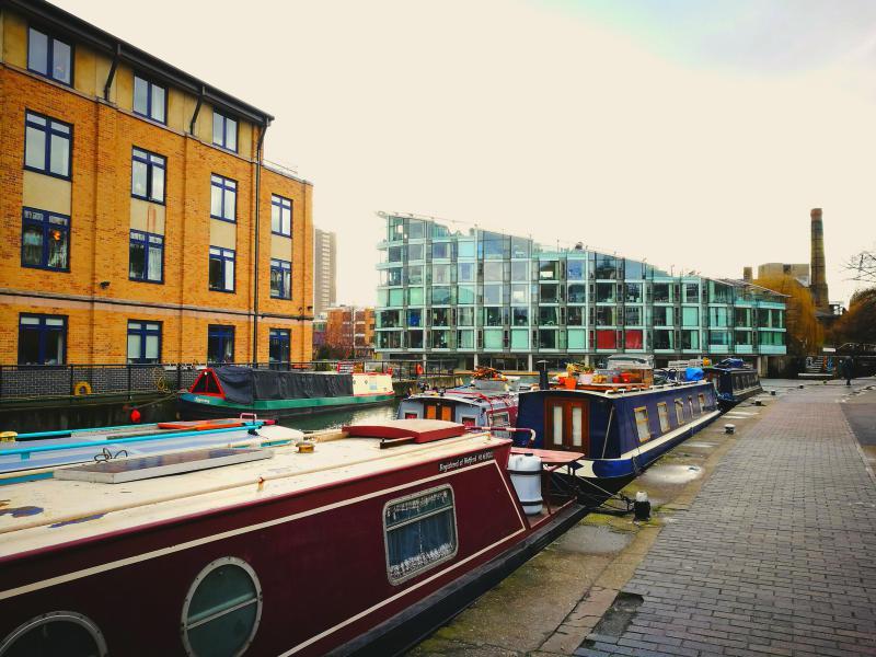 Hoxton, Camden, Regent's Park & Covent Garden