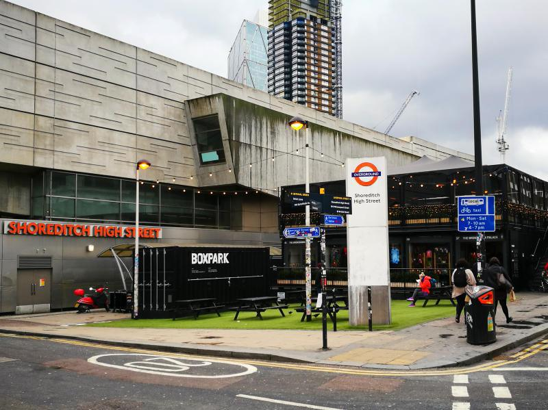 Barbican, Shoreditch, Regents Canal and Tower of London
