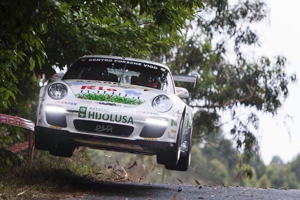 Los hermanos Vallejo regresarán en Ourense con el Porsche que coronaron en 2014