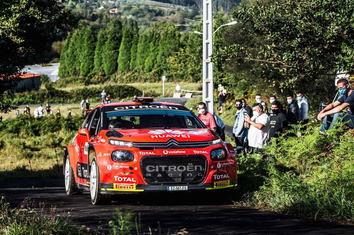 Pepe López encabeza el TCC del 51 Rallye de Ferrol – Suzuki