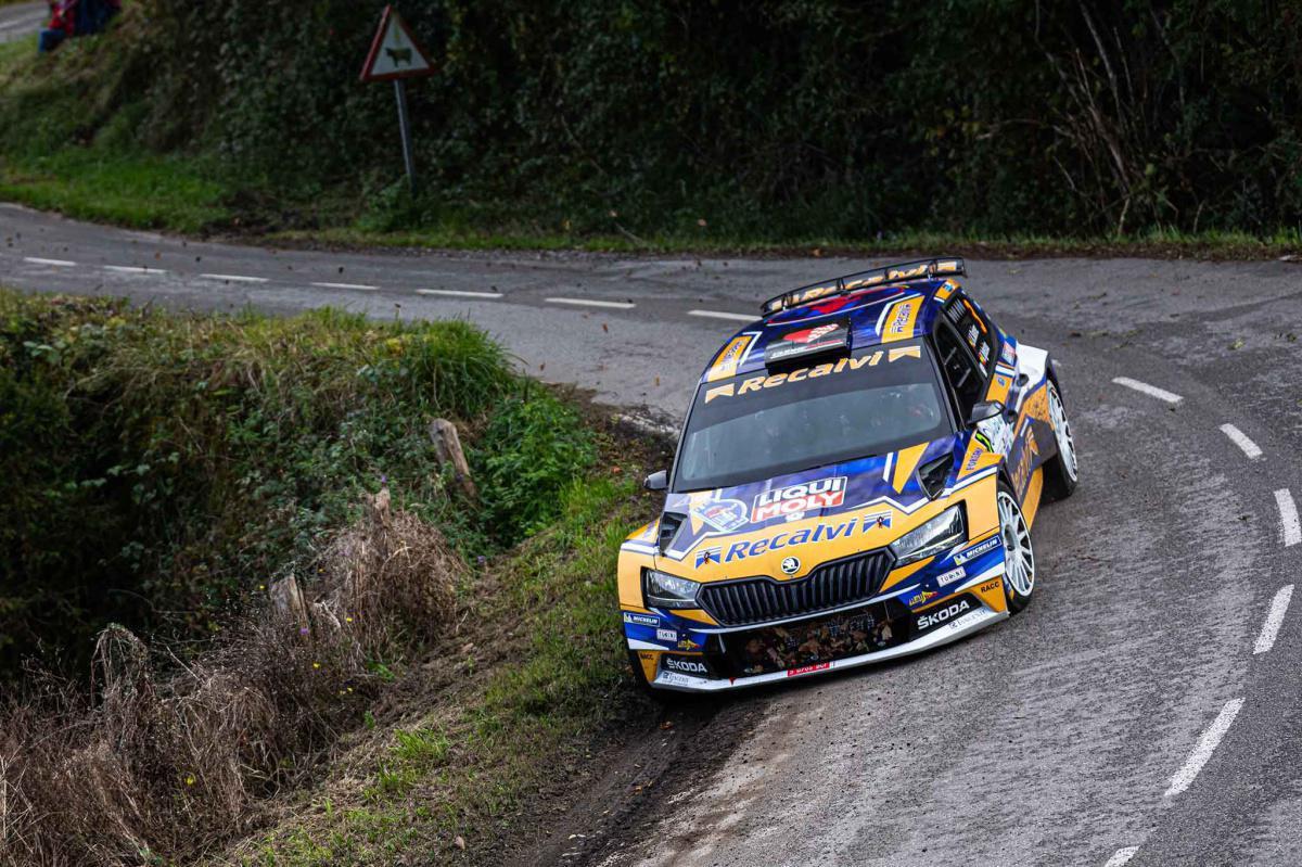 José Antonio Suárez gana por tercer año consecutivo el Rallye Blendio Princesa de Asturias