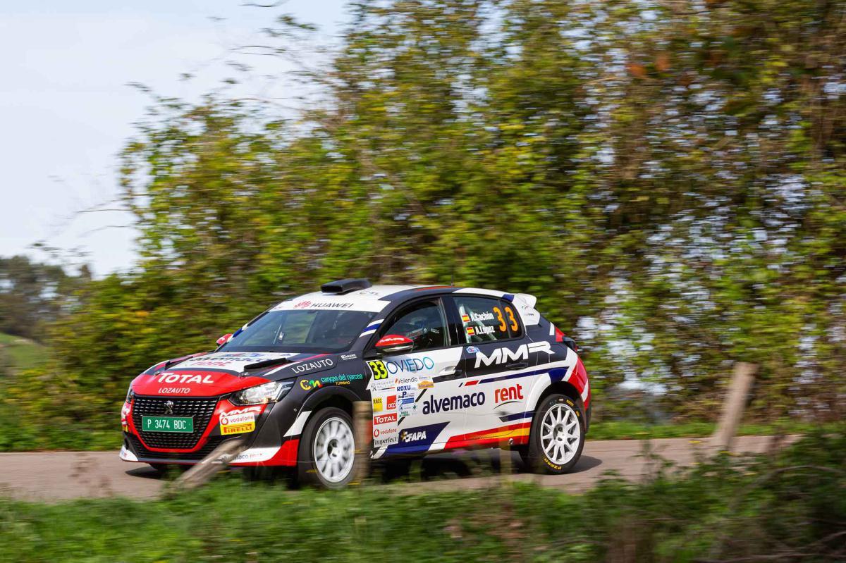 Victoria y liderato en la Peugeot Rally Cup Ibérica para Alejandro Cachón