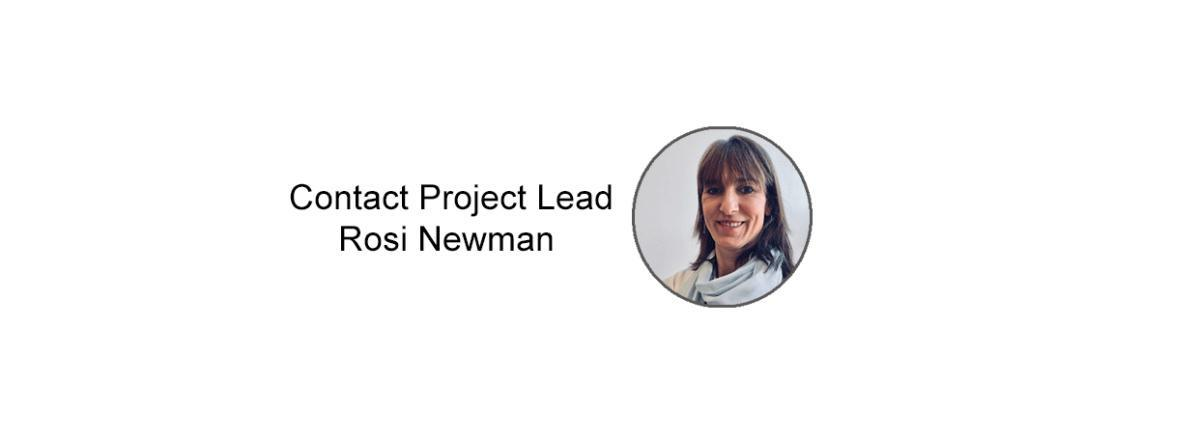Message Rosi Newman Project Lead