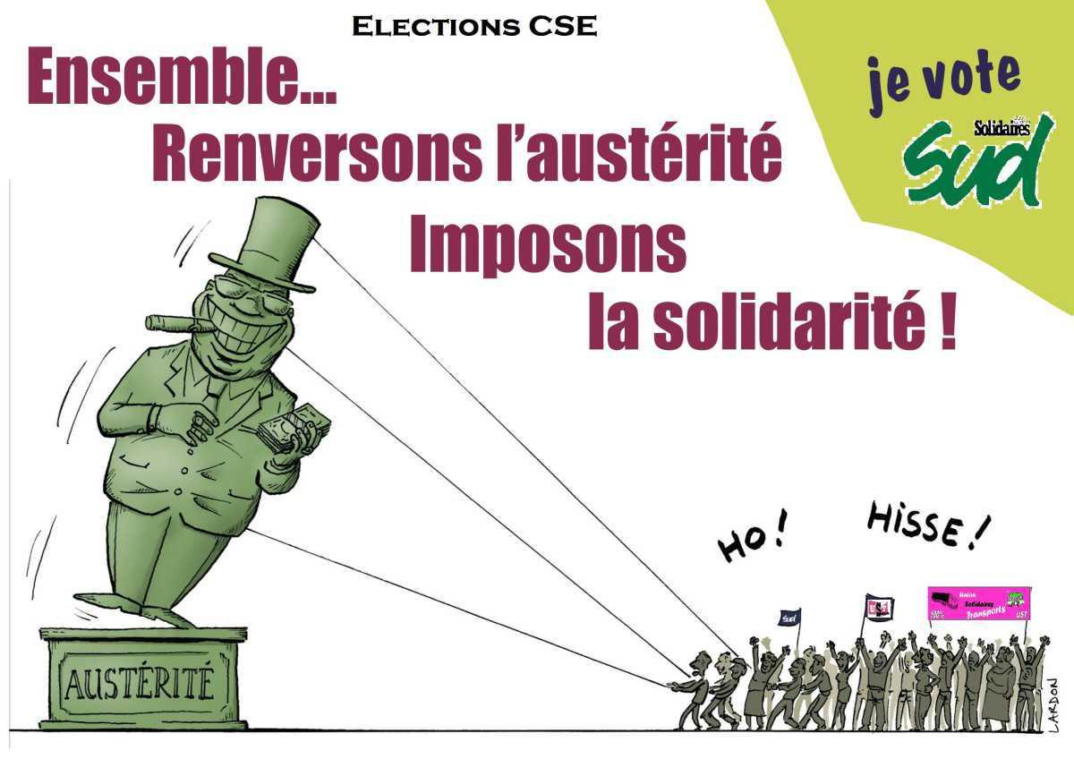 affiche Elections CSE