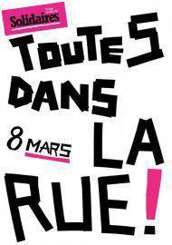 8 mars, grève des femmes !