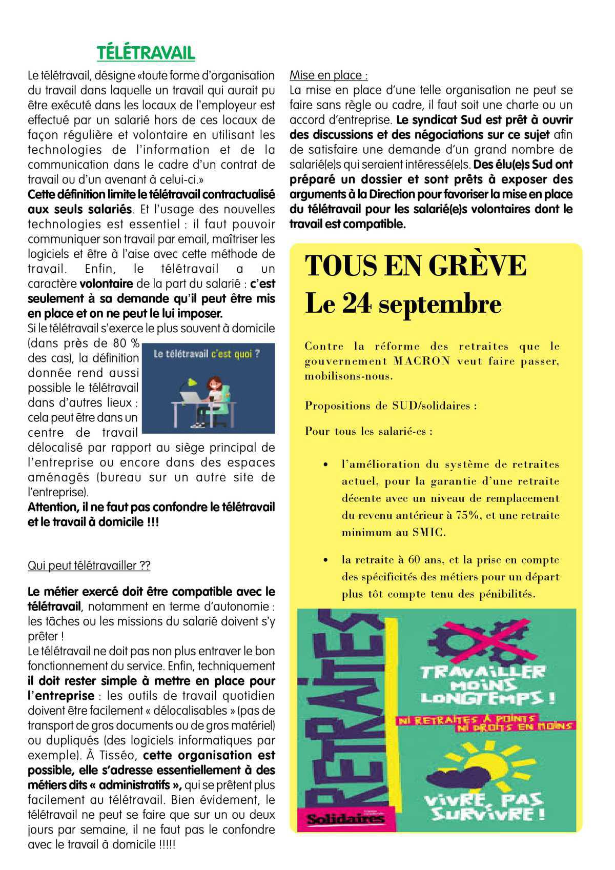 Le tract Sud Toulouse n°486