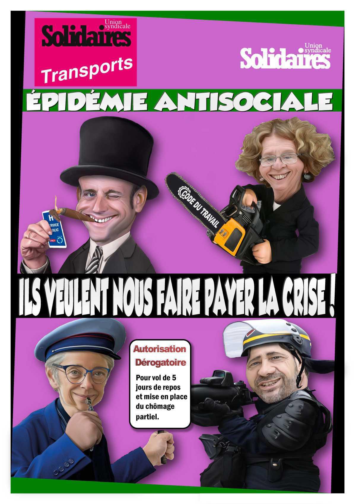 Affiche pandemie