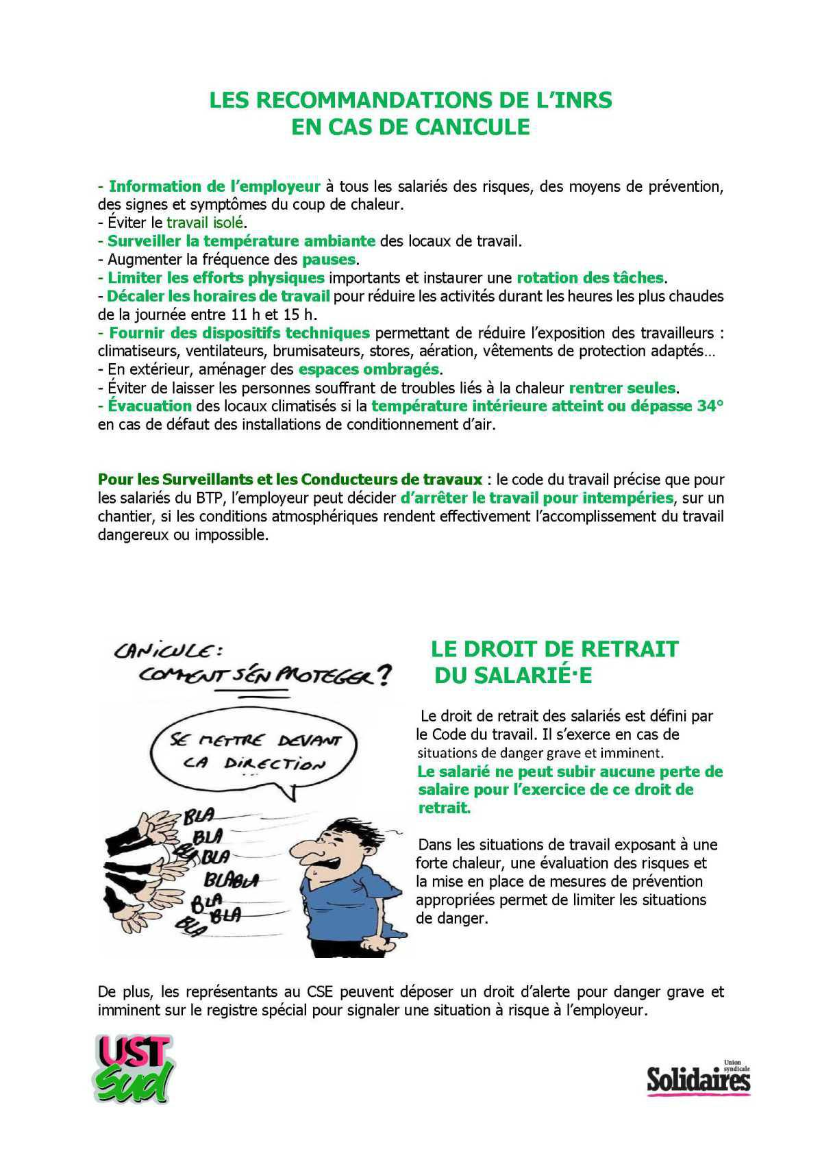 TRACT CANICULE