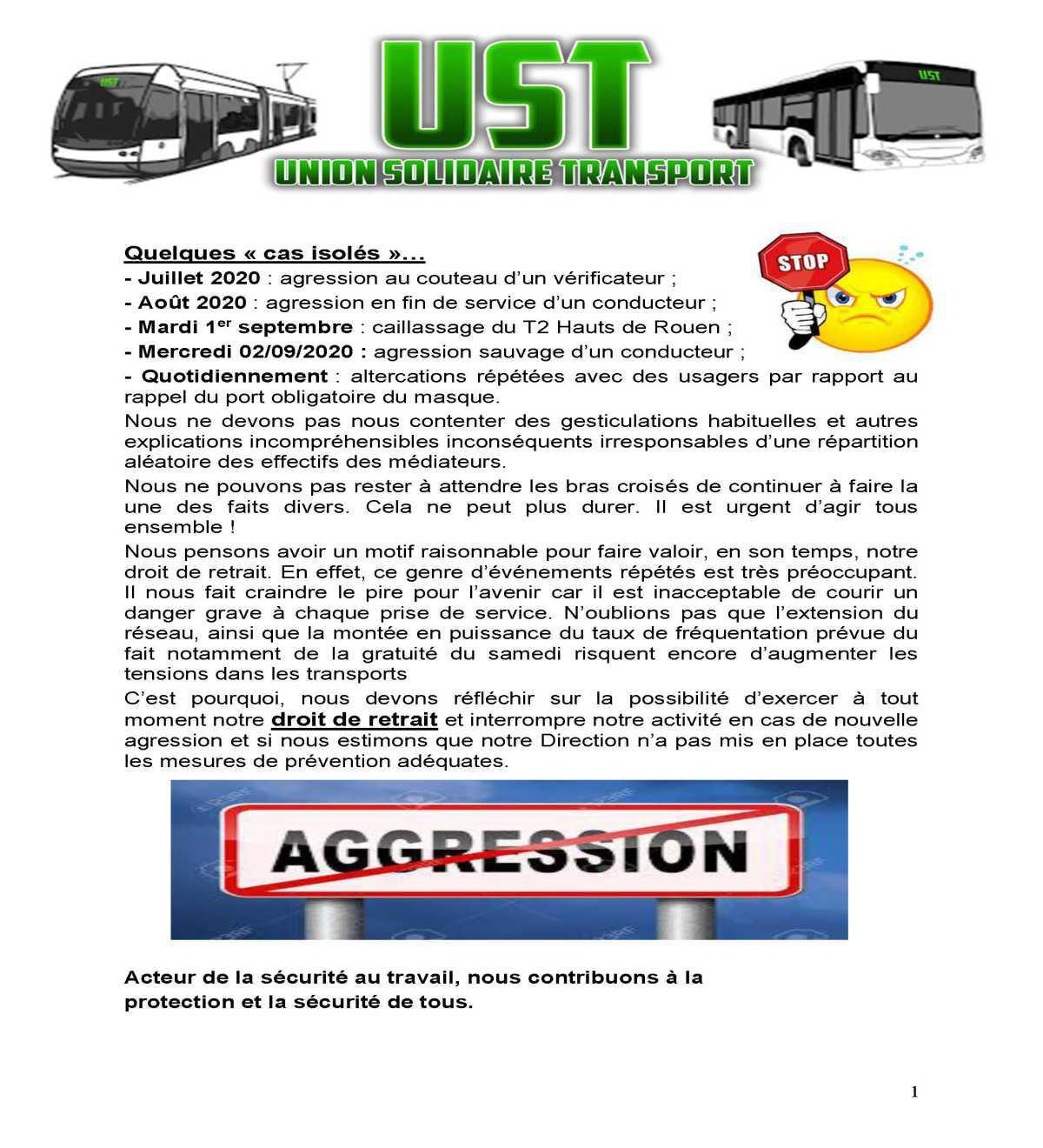 Tract DROIT de RETRAIT TCAR