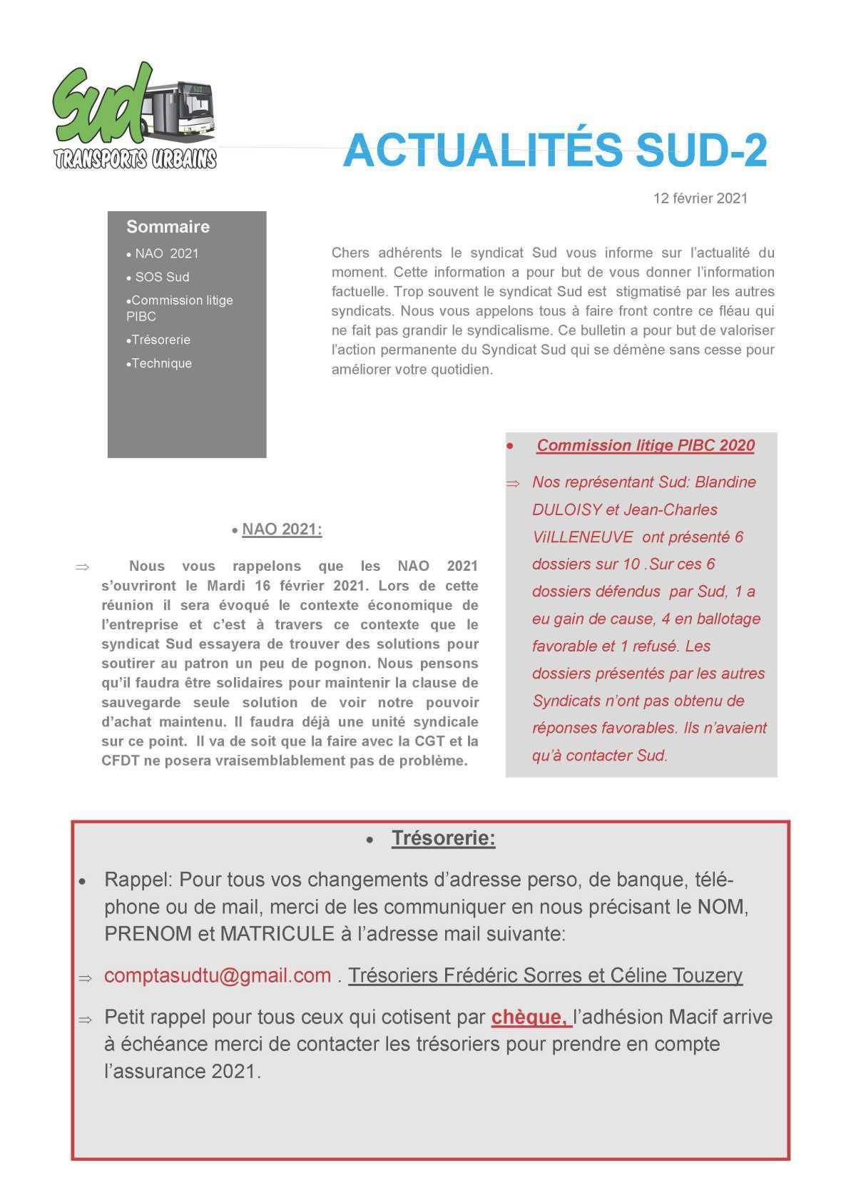 SUD TISSEO TRACT ACTU SUD 2