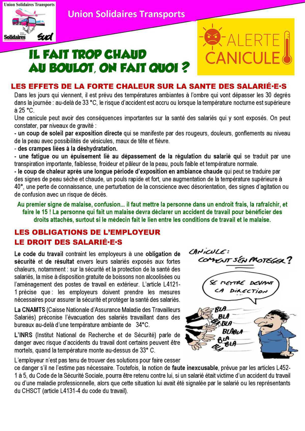 UST [TRACT] Canicule (17 06 21)
