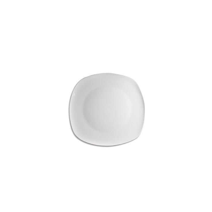 Plato ensalada semicuadrado cobatelli 18 cm