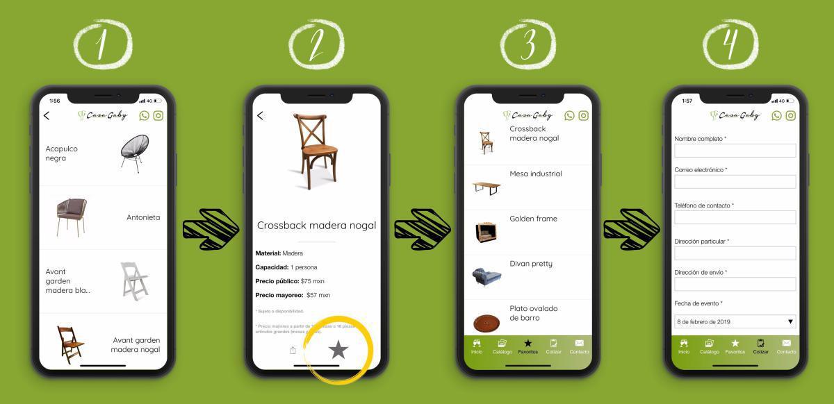 ¡Descubre la app Casa Gaby!