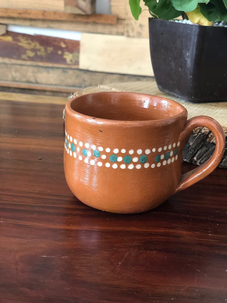Taza café barro