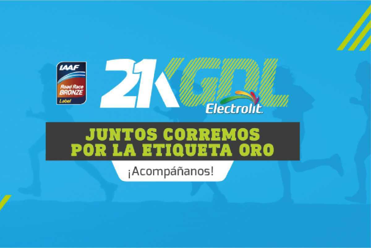 Medio Maratón Electrolit Guadalajara, 21 km