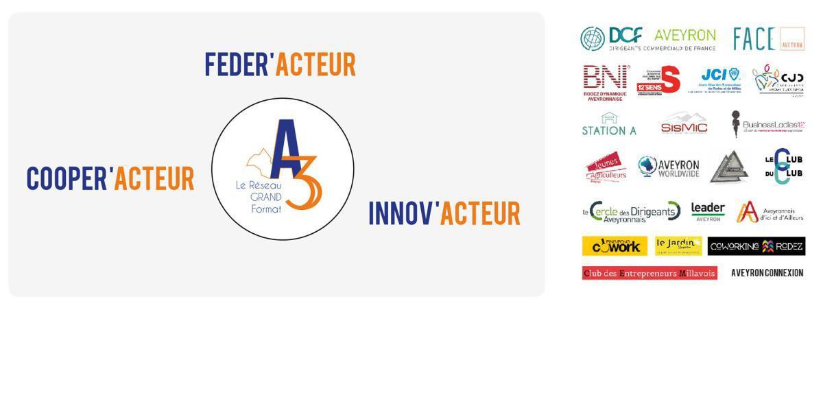 A3, la communauté d'intérêts qui dynamise l'Aveyron