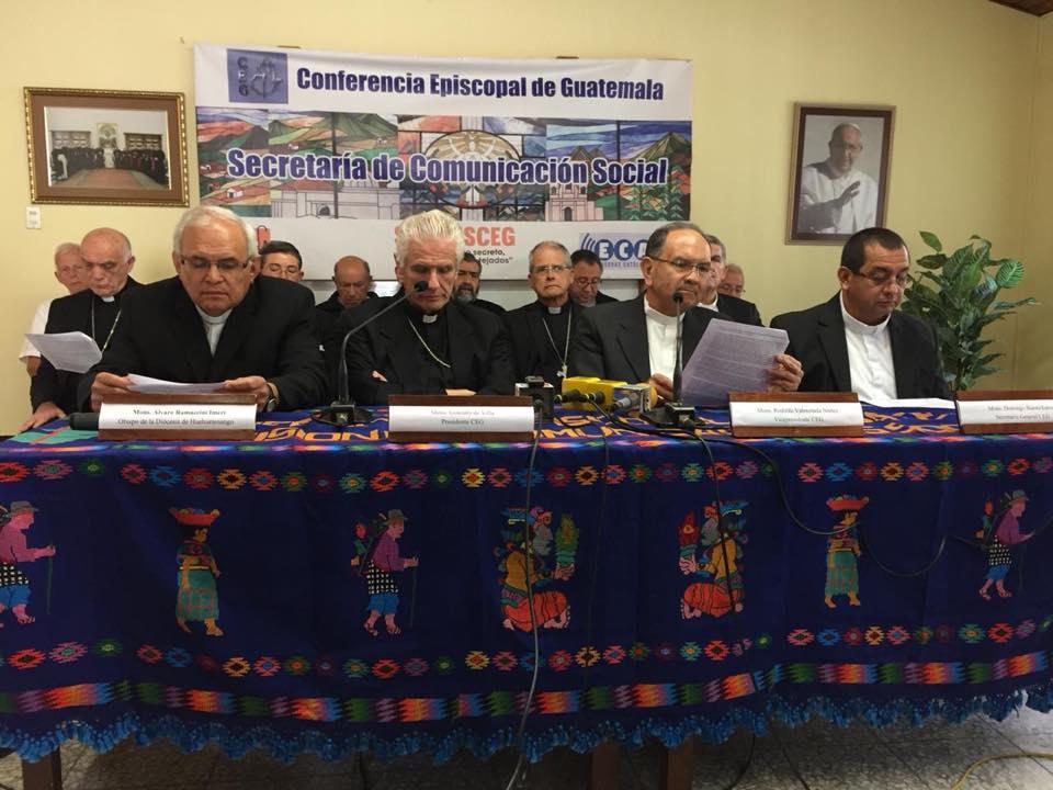 Anunciar y poner en acto el sueño de Dios - Conferencia Episcopal de Guatemala