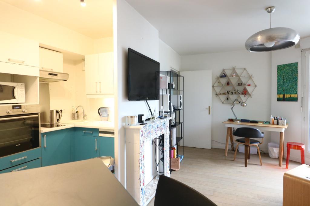 Puteaux - Rosiers-Lorilleux - Appartement 40,09m²